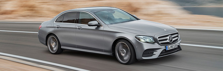 New Mercedes-Benz E-Class fleet Addison Lee
